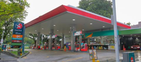 A Caltex Petroleum site in Singapore