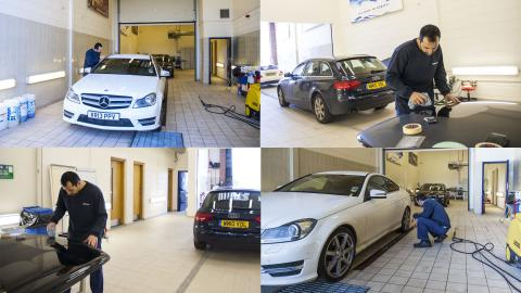 Concept wet and dry bay training school workshop