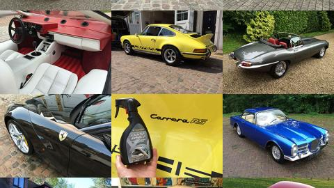 Some of the cars detailed by Richard Tipper using Xpert-60 products