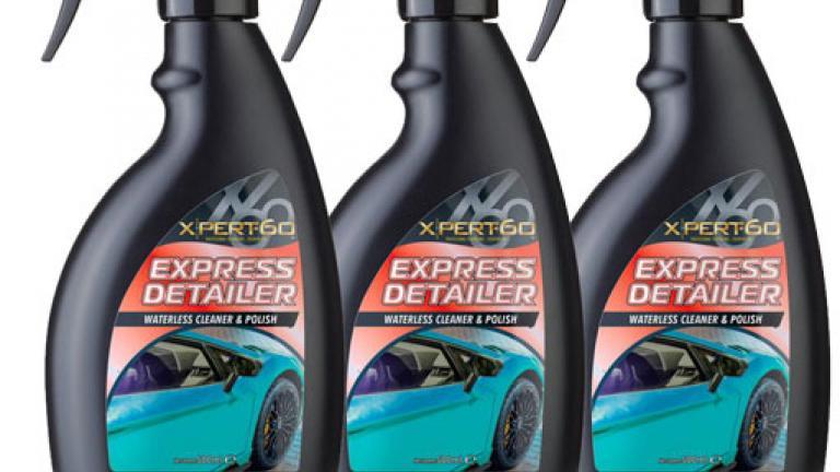 Xpert-60 Express Detailer (Waterless Cleaner)