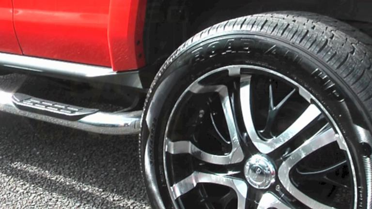 Xpert-60 Tyre Creme on Hummer H3